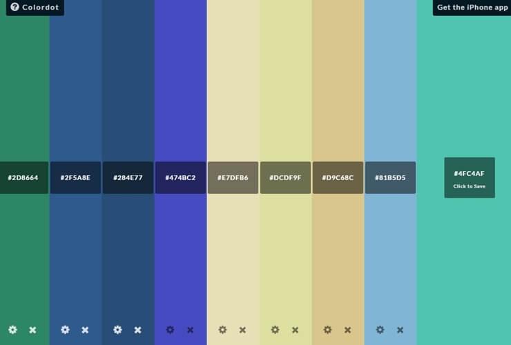 best color combination sites 3