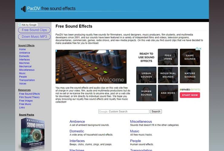 free sound effect sites 5