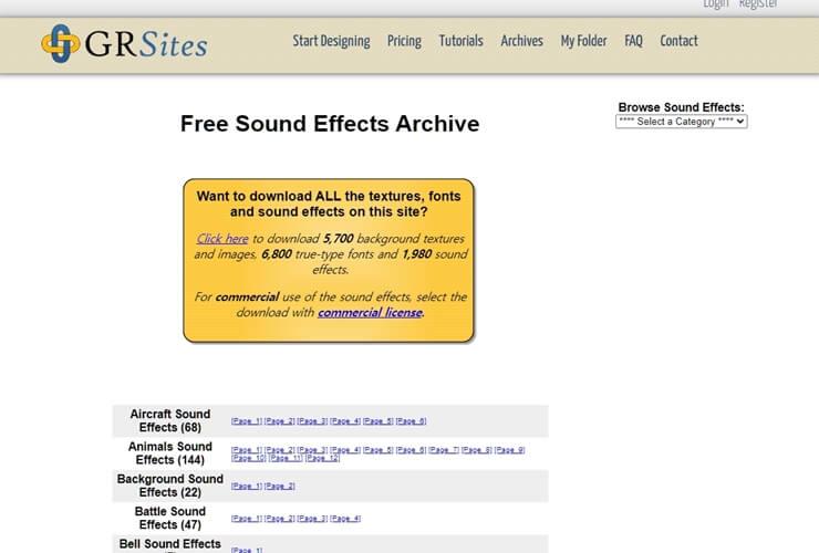 free sound effect sites 6