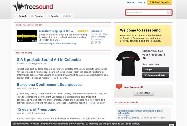free sound effect sites 7
