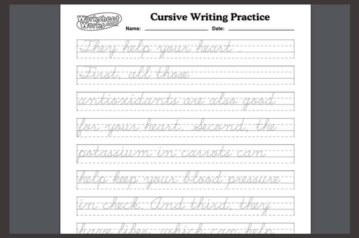 convert english to cursive 5