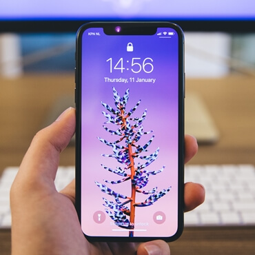 iphone font size settings