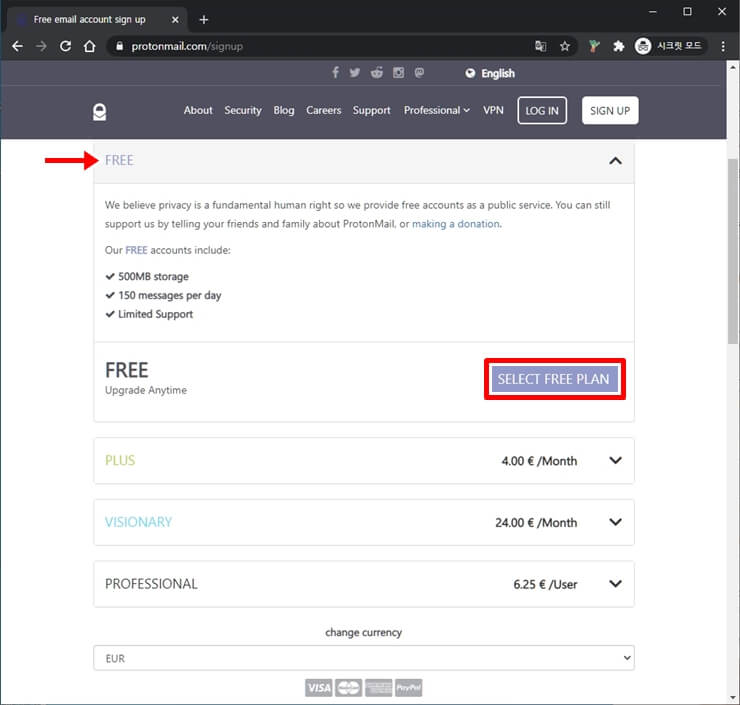 Create an Email Account for free 2