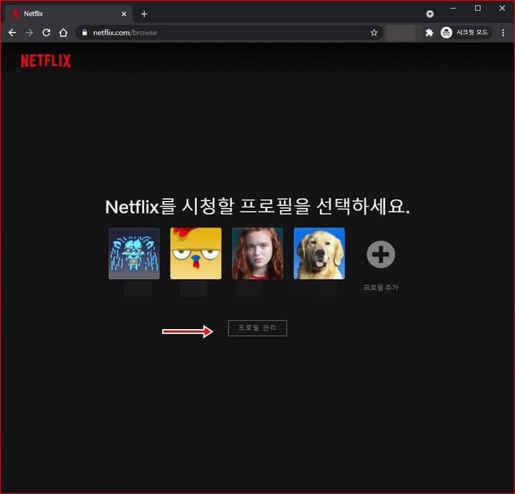 Delete Netflix profile 2
