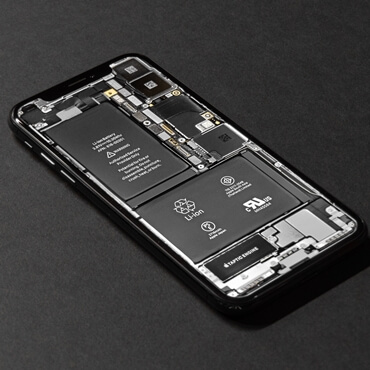 Display iPhone Battery Remaining Amount